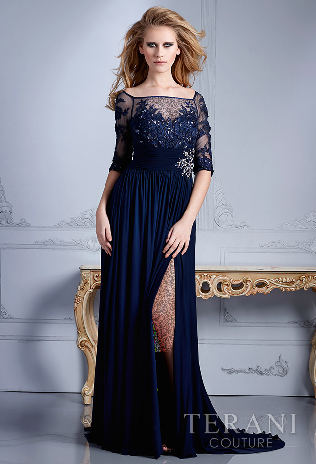 Terani Couture, Evening Collection, Fall 2013.