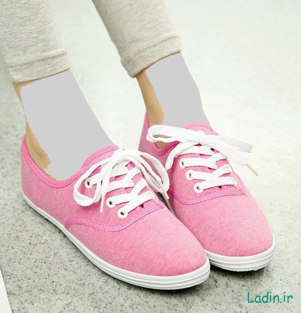2015-New-Simple-Comfort-College-Girls-Canvas-Shoes-Women-Flats-Plain-Lace-up-Casual-Shoes-s864