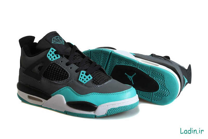 Mens-Air-Jordan-4-Retro-Tiffany-Teal-Black-Cement-Grey-For-Sale-2