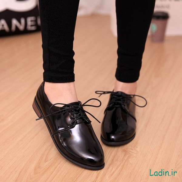 New-2015-Women-Flats-PU-Leather-Oxfords-College-style-Girls-Students-Shoes-Woman-Retro-Fashion-Casual