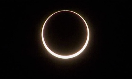 Solar eclipse as seen from Australias outback - video