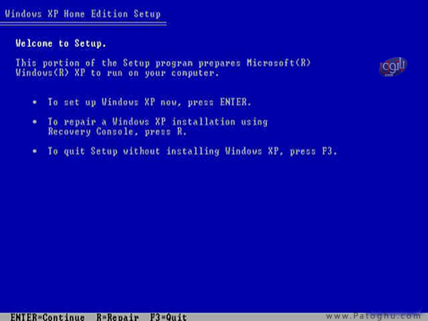 How-Install-Windows-XP-1