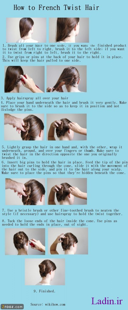 How-to-French-Twist-Hair