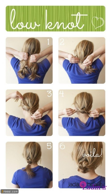 cute-low-knotted-hairstyle-tutorial
